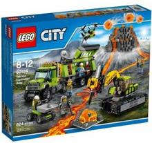 LEGO City Baza badaczy wulkanów 60124