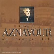 Charles Aznavour Live Au Carnegie Hall