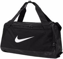 Nike Torba tenisowa Brasilia Small Duffel - black/black/white BA5335-010