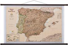 Hiszpania i Portugalia Executive mapa ścienna polityczna 1:1 803 000 National Geographic