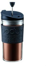 Bodum 1110201Travel Press zaparzacz do kawy, 0.35L kubek podróżny z tworzywa sztucznego 8x 8x 17cm 11102-01