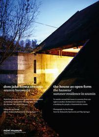 KarakterDom jako forma otwarta Szumin Hansenów - Filip Springer, Aleksandra Kędziorek