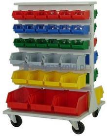 Artech Wózek do pojemników warsztatowych, wym. 975 x 670 x 670 mm (Pojemniki bez pojemników)