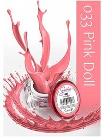 Semilac UV Gel Color 033 Pink Doll 5ml Żel UV do paznokci 5902533440283