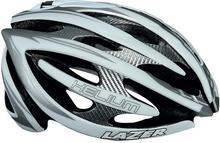 Lazer HELIUM kask rowerowy szosowy srebrny