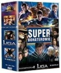 20th Century Fox Super Bohaterowie: Fantastyczna 4 / X-Men II / Liga Niezwykłych Dżentelmenów