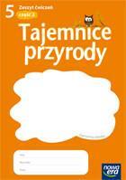 Nowa Era Dominik Marszał, Teresa Paczkowska, Joanna Stawarz Tajemnice przyrody. Klasa  5. Część 2. Zeszyt ćwiczeń