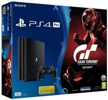 Sony PlayStation 4 Pro 1TB Czarny + Gran Turismo Sport