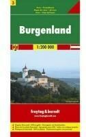 Freytag&Berndt Austria część 3 Burgenland mapa 1:200 000 Freytag & Berndt