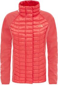The North Face KURTKA THERMOBALL HYB HD/CAYENNE RED W