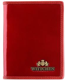 Wittchen Etui na dokumenty WITTCHEN 25-2-163 czerwone 25-2-163-3