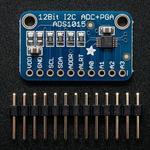 ADS1015 - przetwornik ADC 12-bitowy 4-kanałowy I2C ADA-02618