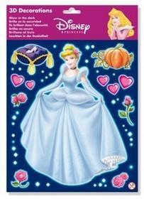 Disney Dekoracja świecąca w ciemności Księżniczki Walt