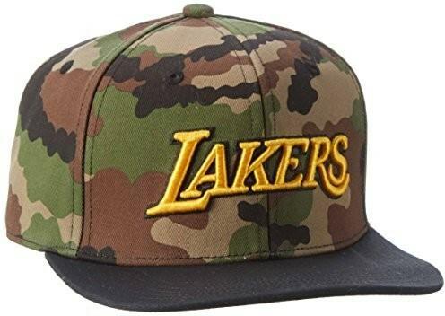 sklep gorące wyprzedaże dobry Adidas NBA Snapback czapka Lakers T, multicolor/Collegiate ...