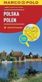 Polska Polen 1:800 000 Marco Polo Zoom - MARCO POLO