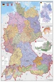 Stiefel Niemcy Austria Szwajcaria mapa ścienna 1:900 000 Stiefel