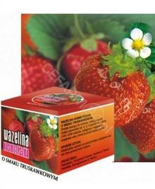 Kosmed II Wazelina kosmetyczna o smaku truskawkowym 15 ml