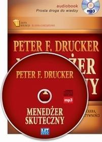 MT Biznes Menedżer skuteczny (audiobook CD) - Peter F. Drucker