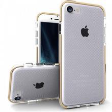 Zizo Pulse - Etui iPhone 7 (przezroczysty/złoty)