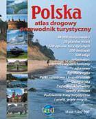 POLSKA Atlas drogowy Przewodnik turystyczny PRACA ZBIOROWA
