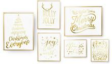 Zestaw 6 plakatów, Tis The Season, Holly Jolly