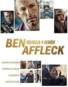 Warner Bros Entertainment Ben Affleck. Kolekcja 4 filmów.
