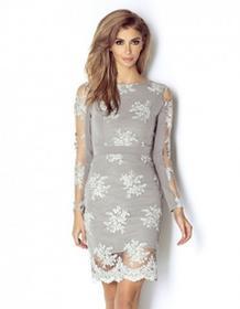 WOW Point Sukienka Paris Popiel