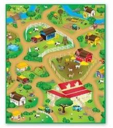Smily Play Farma mata do zabawy 120 x 100 cm