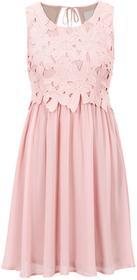 Bonprix Sukienka wieczorowa jasnoróżowy