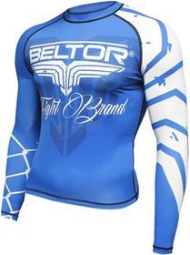 Beltor Rashguard z długim rękawem Predator niebiesko-biały)