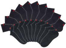 Bonprix Skarpetki do sneakersów H.I.S (20 par) czarny