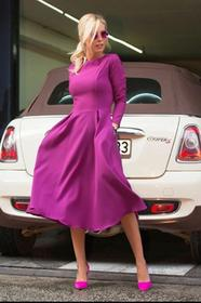 Sukienka JASMINA LILA 002012-41
