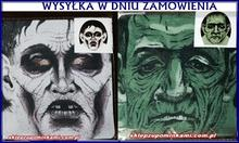 Maska Wampira  Ducha Zombie strój 1024