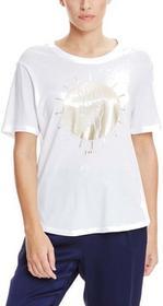 Bench koszulka Sun-Day Print Bright White WH11185)