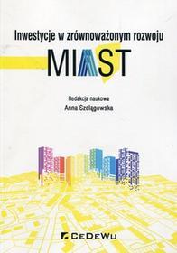 CeDeWu Inwestycje w zrównoważonym rozwoju miast - Anna Szelągowska