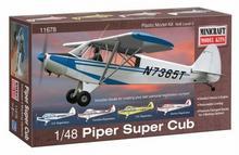 Minicraft Model Kits Model plastikowy - Samolot Piper Super Cub - Minicraft 11678