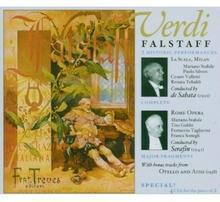 Enrico Caruso; Renata Tebaldi; Ferruccio Tagliavin Verdi Falstaff 2 Historic Performances La Scala De Sabata,May 1952 Rome Opera Serafin 1941