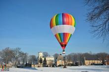 Lot balonem dla dwojga Opole