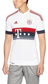 Adidas koszulka piłkarska chłopięca (replika) FC Bayern Monachium, wersja domowa, biały AH4793_White/Power Red/Night Navy/Bold Onix_128