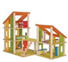 Plan Toys Domek dla lalek z mebelkami PLTO-7602 8854740076021