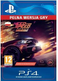 Need for Speed Payback Edycja Deluxe PS4 wersja cyfrowa