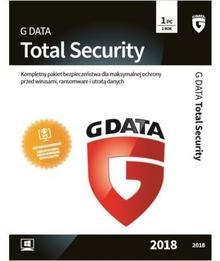 GData Total Security 2018 1 PC 1 rok) BLACK FRIDAY Od 24 do 26 listopada