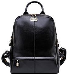 BOYATU Plecaki boyatu Designer skórzane etui uniwersalne toreb podróżnych torebka damska na ramię Pack, kolor: czarny 997751020