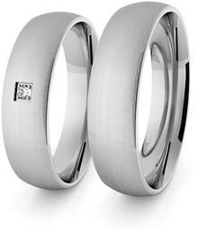 Eminence Obrączki srebrne klasyczne 5 mm - 1 Ag-classic-5-1