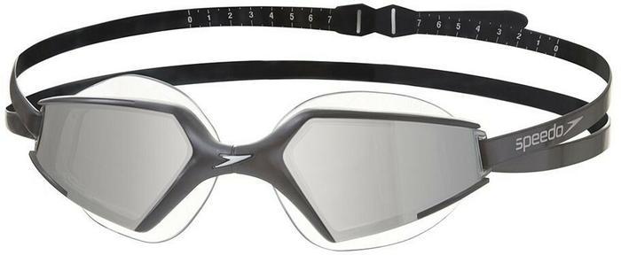 Speedo Aquapulse Max 2 Mirror okulary pływackie, uniwersalne, czarny, jeden rozmiar 8-097957485ONESZ