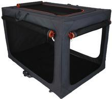 zooplus Exclusive Torba transportowa Alu Deluxe składana nylonowa XL dł x szer x wys. 106 x 71 x 69 cm
