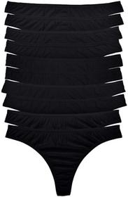Bonprix Stringi (10 par) czarny