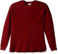 Lucky Brand męski Strong Boy Thermal Crew T-Shirt wieczko  - 7M62084-9BK-XL