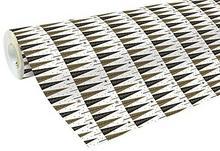 Clairefontaine 50m X 70cm Black and White Christmas drzew częściowych papier do pakowania prezentów