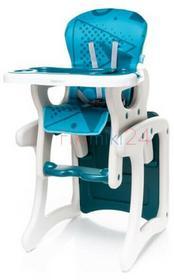 4Baby Krzesełko do karmienia FASHION turkusowe 761208